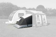 Kampa Pro Air Annexe + Bedroom (Fits Ace, Rally, Club, Motor Ace, Motor Rally, Grande)